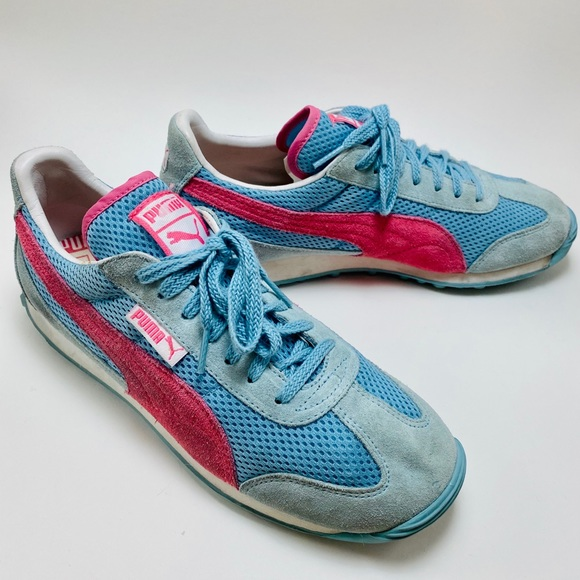 Puma Shoes   Sz 9 Suede Running   Poshmark